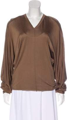 Kolor V-Neck Dolman Sleeve Top