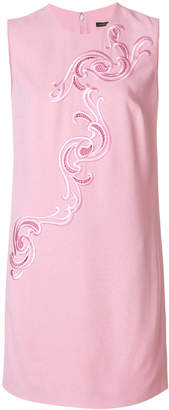 Versace Baroque embroidered dress