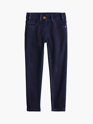 J.Crew crewcuts by Girls' Cosy Runaround Skinny Fit Jeans, Dark Blue