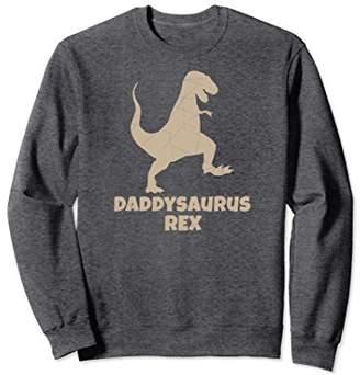 Daddysaurus Rex Sweatshirt Men Father Gift