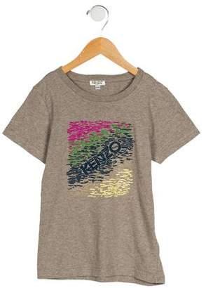 Kenzo Boys' Printed Short Sleeve T-Shirt