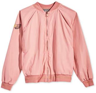Epic Threads Big Girls Reversible Baseball Jacket, Created for Macy's