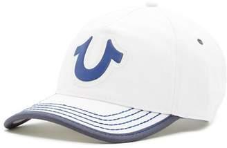 True Religion Puff Horseshoe Baseball Cap
