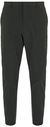 Prada Technical Elasticated Cuff Trousers - Mens - Green Multi