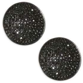 Nest Pave Stud Earrings