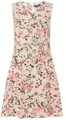 Dorothy Perkins Womens Blush Floral Fit and Flare Dress