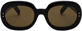 Gucci Oval Frame Sunglasses