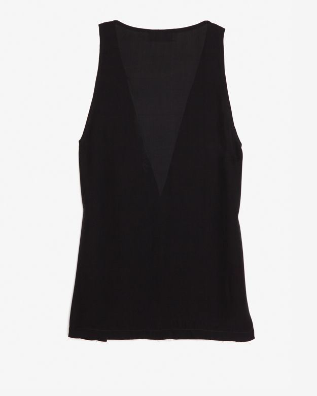 A.L.C. Colorblock Inset Sleeveless Blouse
