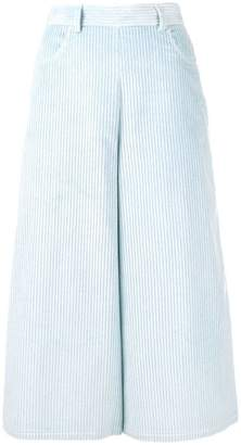 See by Chloe high-waist cropped trousers