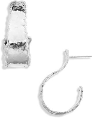 KAREN LONDON Nocturnal Flare Hoop Earrings
