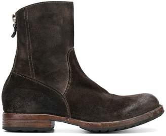 Moma rear-zip ankle boots