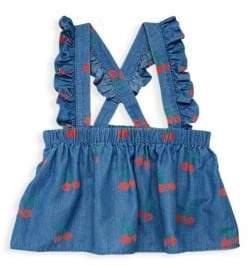 Stella McCartney Baby Girl's Cherry Chambray Skirt