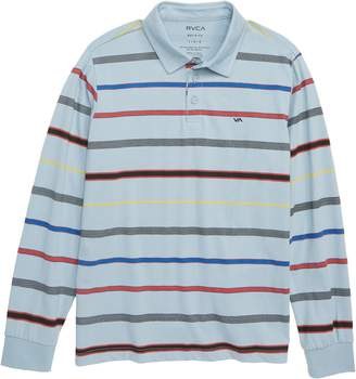 RVCA Sure Thing Stripe Polo