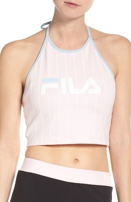 Women's Fila Luann Crop Halter Top $38 thestylecure.com