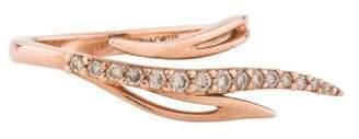 Cristina Ortiz 9K Diamond Angel Ring