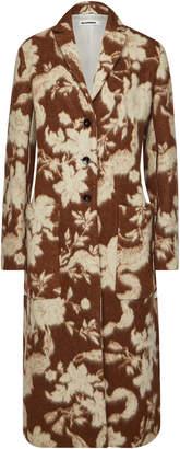 Jil Sander Fullertonbis Wool-Alpaca Coat