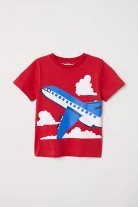 H&M T-shirt with Printed Motif