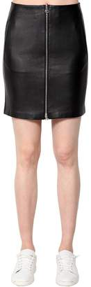 Rag & Bone Rag&bone Heidi Leather Mini Skirt