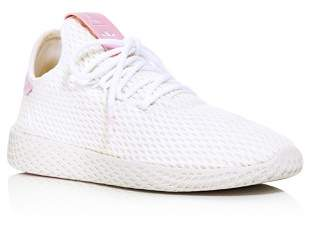 adidas x Pharrell Williams Women's Tennis Hu Lace Up Sneakers