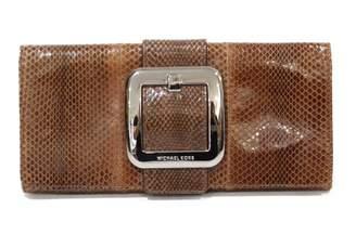 Michael Kors Exotic Leathers Clutch Bag