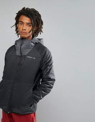 O'Neill Activewear Kinetic Insulated Windbreaker Jacket in Black