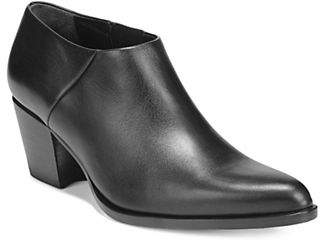 Vince Point Toe Leather Booties