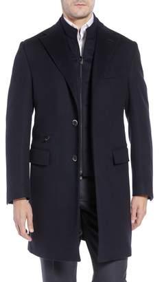 Corneliani Solid Wool Topcoat