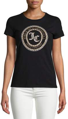 Juicy Couture Women's Seal of Couture Class Cotton Tee