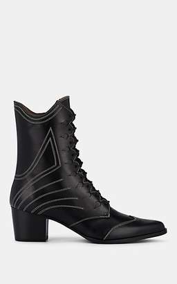 Tabitha Simmons Women's Swing Leather Ankle Boots - Black