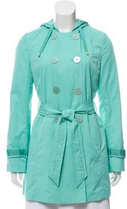 Tahari Hooded Short Coat