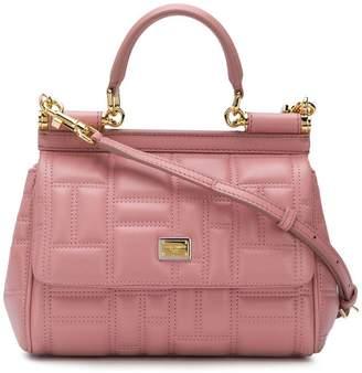 Dolce & Gabbana mini Sicily quilted shoulder bag