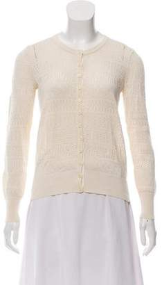 Marc by Marc Jacobs Open-Knit Lightweight Cardigan