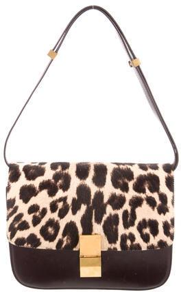 CelineCéline Ponyhair Medium Box Bag