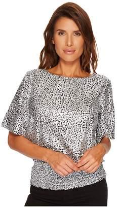 MICHAEL Michael Kors Small Leopard Kimono Women's Clothing