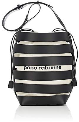 Paco Rabanne Women's Leather Cage Bucket Bag