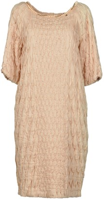 Elisabetta Franchi GOLD Knee-length dresses - Item 34858476OK