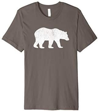 Distressed Bear Walking T-shirt