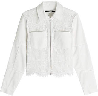 McQ Jacket with Lace