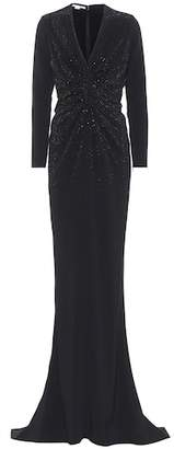 Stella McCartney Joy Hot Fix embellished gown