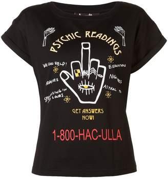 Haculla Psychic Readings print T-shirt