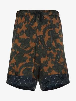 Dries Van Noten Print Shorts