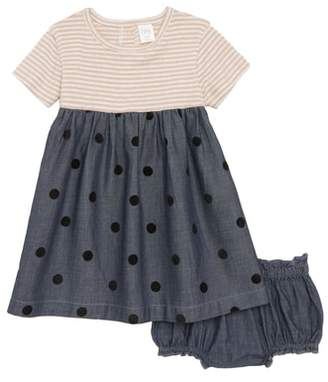 Nordstrom Dress & Bubble Bloomers Set