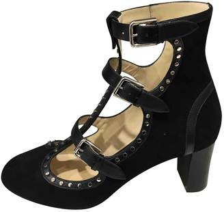 Jimmy Choo Black Suede Heels