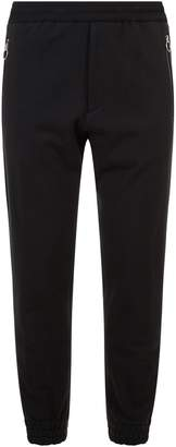 Solid Homme Tuxedo Stripe Stretch Jersey Trousers