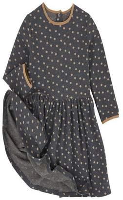 Petit Bateau Sparkle Dot Dress