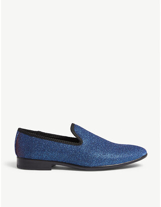Aldo Vanrena metallic loafers