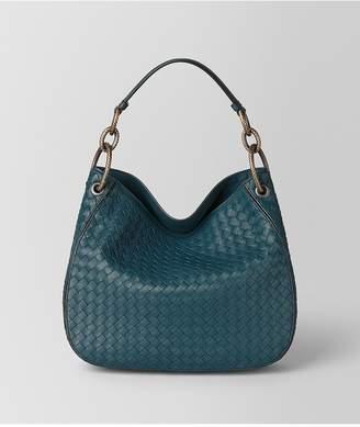 Bottega Veneta Nero Intrecciato Nappa Loop Bag