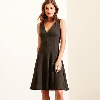 Ralph Lauren Fit-and-Flare Ponte Dress $169 thestylecure.com