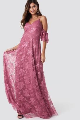 Trendyol Rose Dry Maxi Dress Dusty Rose