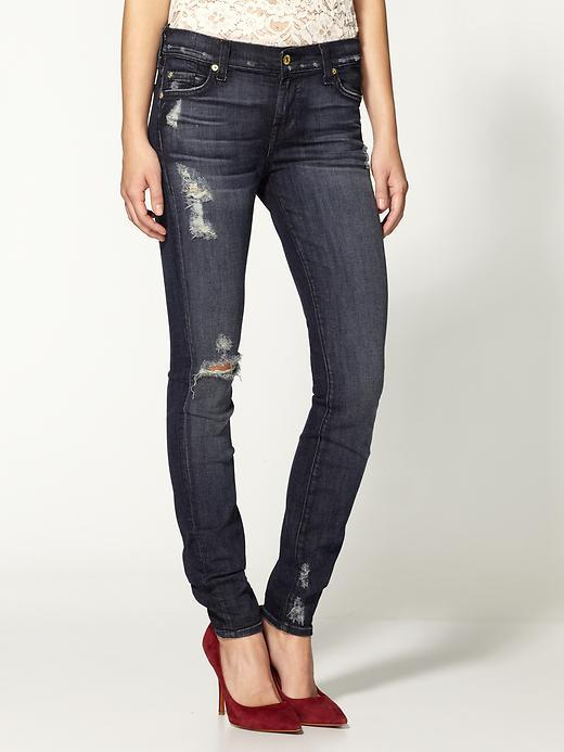 7 For All Mankind The Skinny w/ Squiggle Jeans